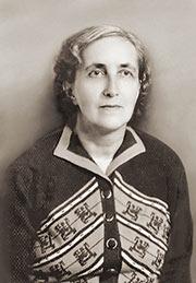 Наталия Дмитриевна Спирина. Новосибирск, 1960е гг.