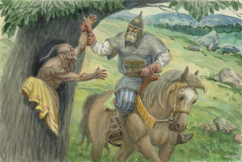 Илья муромец и соловей разбойник иллюстрации к сказке
