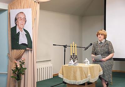 Литературная гостиная. Рассказ о В.Г. Бенедиктове