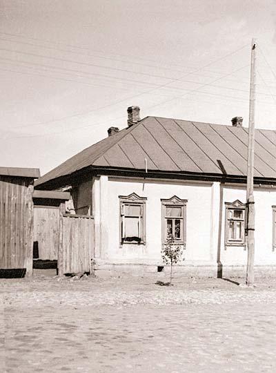 Дом в Венёве, в котором жили Абрамовы (ул.Советская,13)